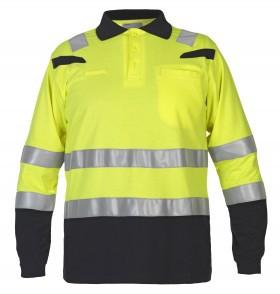 Hydrowear Sweater Longsleeve FR AST/Hi-Vis Mandal