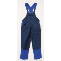 048494 Hydrowear Bib Trouser Gouda Navy/Royal blue