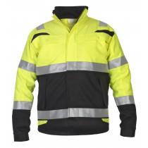 044479 Hydrowear Summer Jacket Hi-Vis line Harwich
