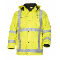 046463 Hydrowear Winter Parka Beaver Lokeren EN471 RWS (yellow or orange)