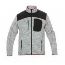 Hydrowear Knitted Cardigan Texas zwart en grijs