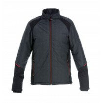 042640 Hydrowear Quilted Jacket Twist Grey/Black